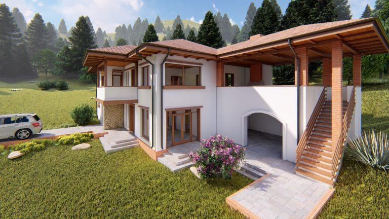 Casa in tinut muntos - locuinta privata