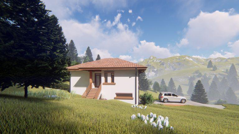 vedere pentru casa la munte