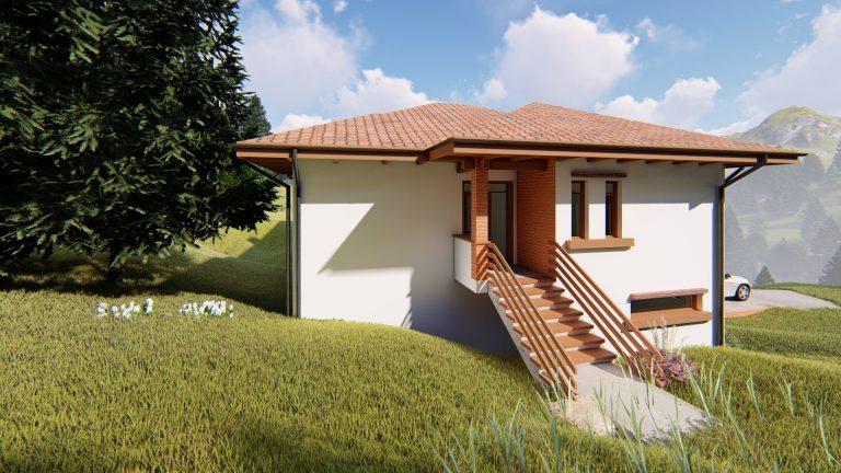 Casa in zona de munte