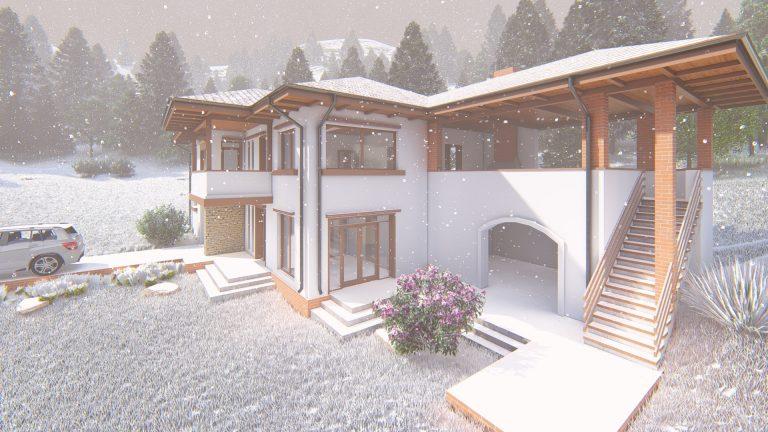 casa de vacanta in romania iarna